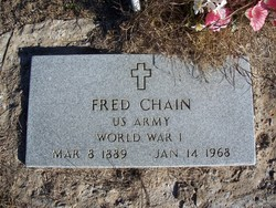 "Frederick Clinton ""Fred"" Chain"
