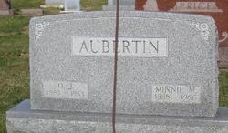 Minnie M <I>Fell</I> Aubertin