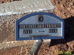 Esther <I>Bushhead</I> Grayman