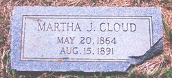 Martha Jane <I>Pratt</I> Cloud