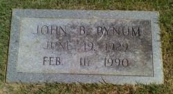 John Billy Bynum