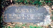 "Estelle Elizabeth ""Bobbie"" <I>Tatspaugh</I> Mackey"