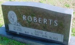 "Sarah Catherine ""Sadie"" <I>Henderson</I> Roberts"