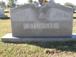 """Andrew F. """"Andy"""" Sturgis"""
