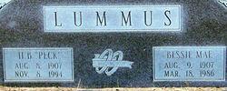 "Hurshel Bedford ""Peck"" Lummus"