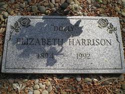 """Elizabeth """"Dolly"""" Harrison"""