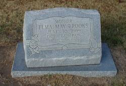 Elma May <I>Wallace</I> Brooks