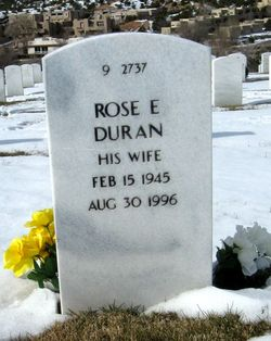 "Rosie Evelyn ""Rose"" <I>Trujillo</I> Duran"
