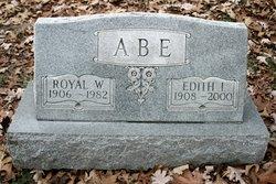 Edith I <I>Blauch</I> Abe