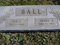 Ida E. <I>Flinn</I> Ball