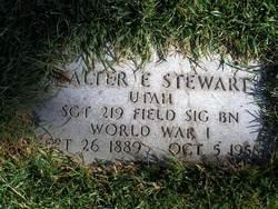 Walter Ernest Stewart