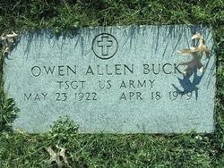 TSGT Owen Allen Buck