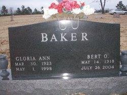 Gloria Ann <I>Hooker</I> Baker