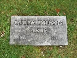 Carolyn <I>Errickson</I> Austin