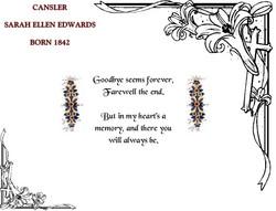 Sarah Ellen <I>Edwards</I> Cansler