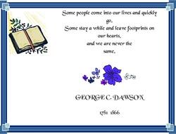 George C Dawson