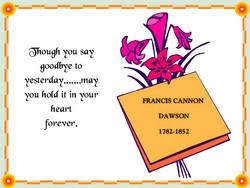 Frances Cannon <I>Mosby</I> Dawson