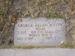 George Allen Booth