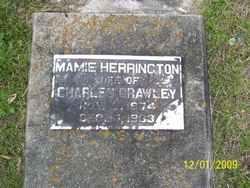 Mamie <I>Herrington</I> Crawley