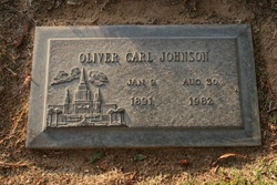 Oliver Carl Johnson
