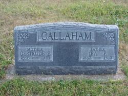 Gertrude Eliza <I>Tubbs</I> Callaham