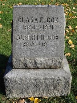 Clara Elvina <I>Clough</I> Cox
