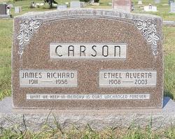 Ethel Alverta <I>Snyder</I> Carson