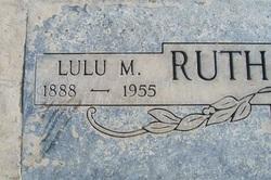 Lulu M. <I>Anderson</I> Rutherford