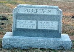 "Susan Elizabeth ""Susie"" <I>Morris</I> Robertson"