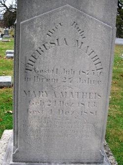 Mary Ann <I>Reisch</I> Matheis