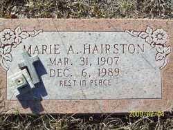 Marie A <I>Floyd</I> Hairston