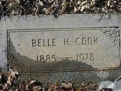 Belle H. <I>Harris</I> Cook