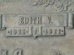 Edith V Thomas