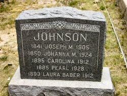 Laura <I>Johnson</I> Baber