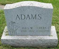 Ides Willard Ike Adams