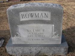 Earl Robert Bowman