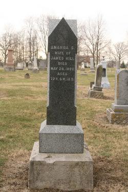 Amanda Sarah <I>Hague</I> Hill