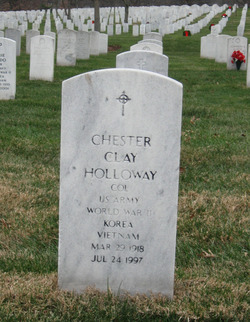 Chester Clay Holloway, Jr