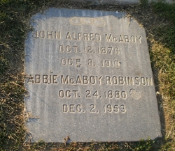 John Alfred McAboy