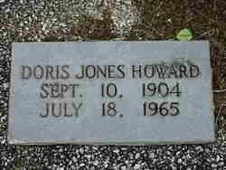 Doris <I>Jones</I> Howard