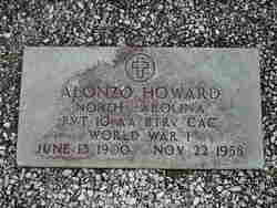 Pvt Alonzo Howard