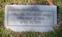 George Heustis Fonde, Jr