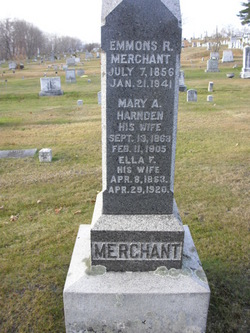 Mary A. <I>Harnden</I> Merchant