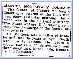 Manuel <I>Montoya y</I> Colombo