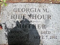 Georgia May <I>Monaghan</I> Ridenhour