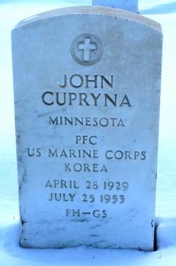 PFC John Cupryna