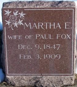 Martha E Fox