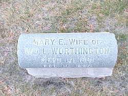 Mary Elizabeth <I>Kinser</I> Worthington
