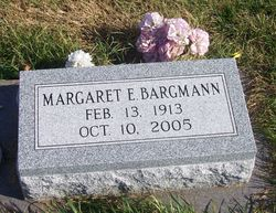 Margaret E <I>Geisler</I> Bargmann