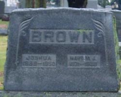 Martha J. <I>Hansel</I> Brown